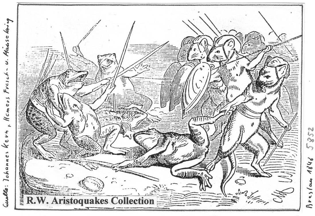 Der Froschmäusekrieg